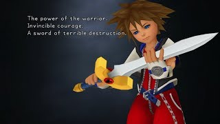 Kingdom Hearts HD 1.5 - Beginning Game Options (Tutorial)
