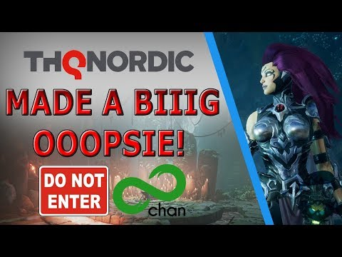 THQ Nordic Does AMA On 8 Chan & Journo's LOSE Their MINDS! (Darksiders 3)