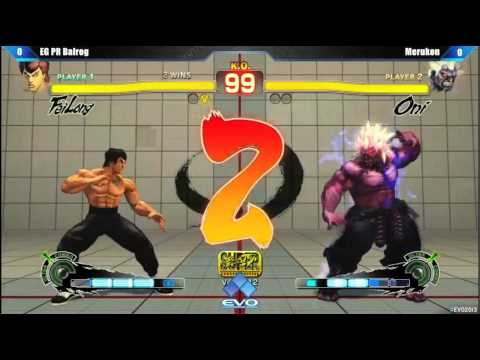 EVO 2013 - Super Street Fighter IV AE Pool Matches - EG PR Balrog vs Merukon