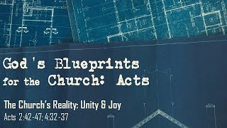 The Church's Reality: Unity & Joy