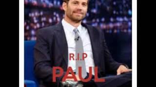 RIP Paul Walker  it's not over - Secondhand Serenade