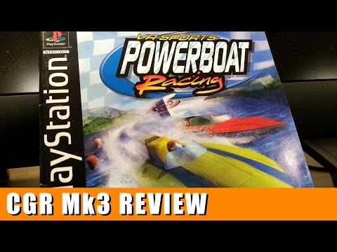 Classic Game Room – VR SPORTS POWERBOAT RACING review for PlayStation