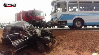 Encore un accident mortel à ziguinchor bilan 6 morts
