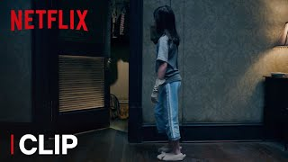 The Haunting of Hill House   Clip: Can You Spot What's Hidden in the Closet?   Netflix