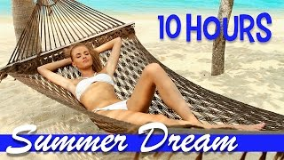 Smooth Jazz: Summer Dream (10 Hours of Soft, Mellow, Relaxing Saxophone Spa Sleep Music)