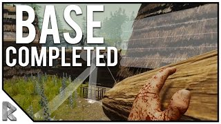 Base Completed! - The Forest Multiplayer w/ Vuxxy #2 (Season 2)