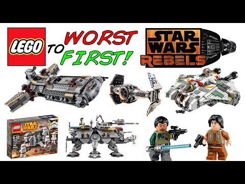 LEGO Worst To First | ALL LEGO Star Wars Rebels Sets!