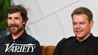 'Ford v Ferrari' Stars Christian Bale & Matt Damon on Shooting Intense Racing Scenes
