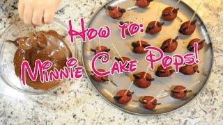 How to: Minnie Cake Pops (Buzzed Style)