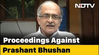 Supreme Court Initiates Contempt Proceedings Against Advocate Prashant Bhushan