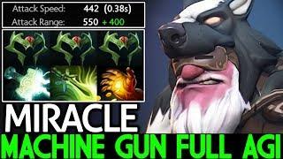Miracle- [Sniper] Machine Gun Full Agi Max Attack Speed Insane Plays 7.22 Dota 2