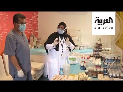 العرب اليوم - شاهد: ستينية تشارك الفرق التطوعية تقديم الخدمات لسكّان مكة