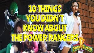 10 THINGS YOU DIDN'T KNOW ABOUT THE POWER RANGERS