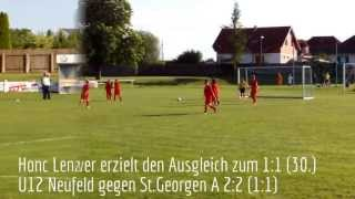 preview picture of video 'Kopie von Coca-Cola U12 Neufeld gegen St.Georgen 2:2 (1:1) - Tore'