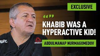 Abdulmanap Nurmagomedov speaks on Khabib's childhood [Part 1]