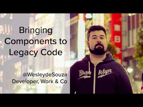 Bringing Components to Legacy Code