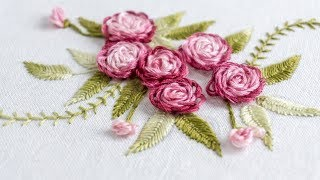 Hand Embroidery: Stitch Your Flower Patterns With HandiWorks