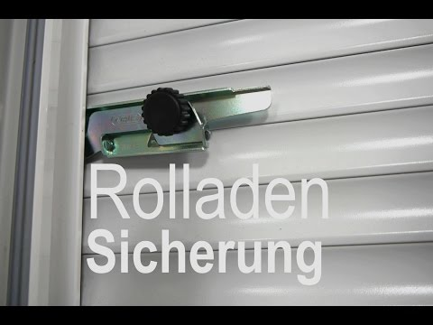 Rolladen Sicherung ABUS RS97 - Anleitung -