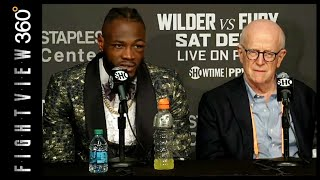 WILDER AMAZED FURY GOT UP! REFLECTS ON DECISION! WILDER VS FURY POST FIGHT HIGHLIGHTS!
