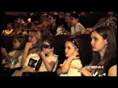 Ação no cinema IENH - #BRINCARmeinspira