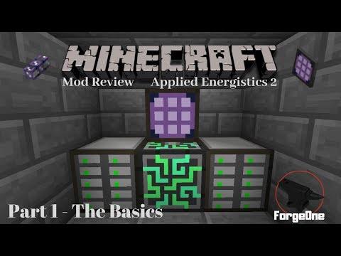 Minecraft Mod Review - Applied Energistics 2 - Part 1 - The Basics