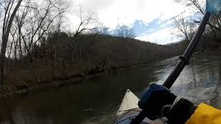 Bennett spring niangua river march 2nd kayak