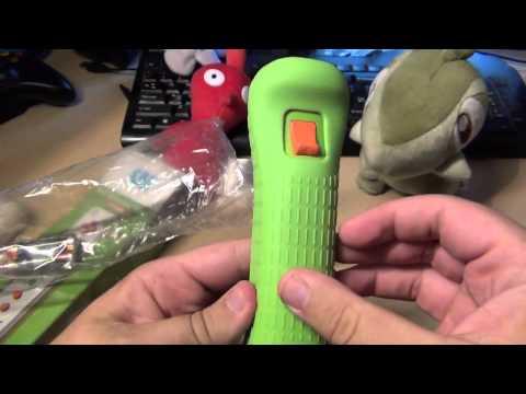 Видео № 0 из игры Nintendo Wii U Remote Plus Yoshi, бело/зеленый