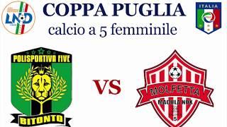 Polisportiva Bitonto femminile C5 - Molfetta