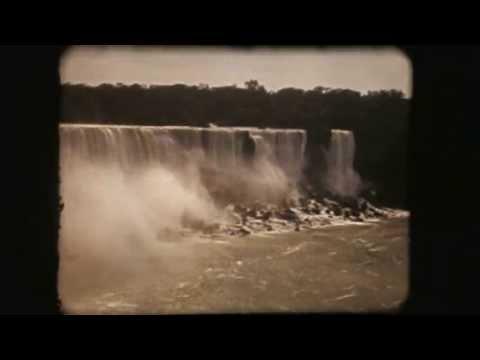 A Trip to Niagara Falls Canada 1941