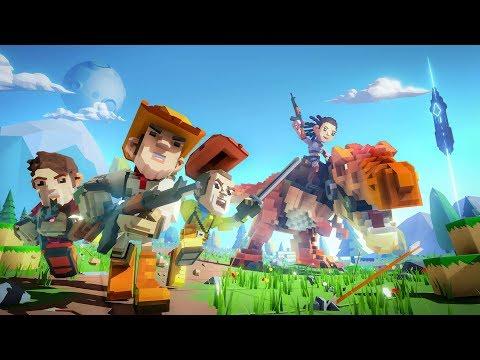 【Pixark】ピクセル恐竜生活 ①(マイクラ風ARKの世界)【PS4】