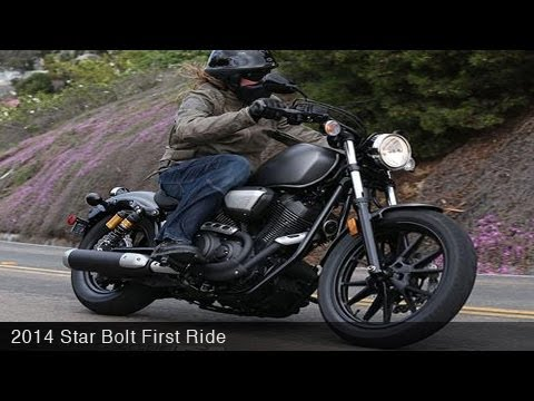 2014 Star Bolt First Ride