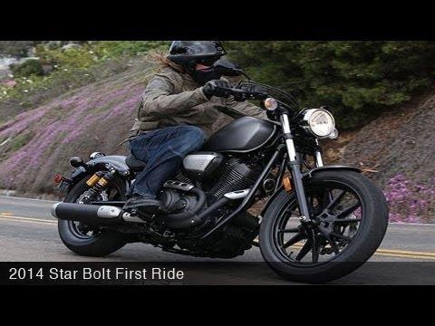 2014 Star Bolt First Ride