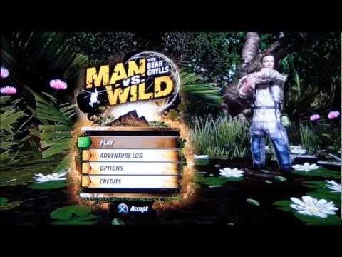 man vs wild wii game