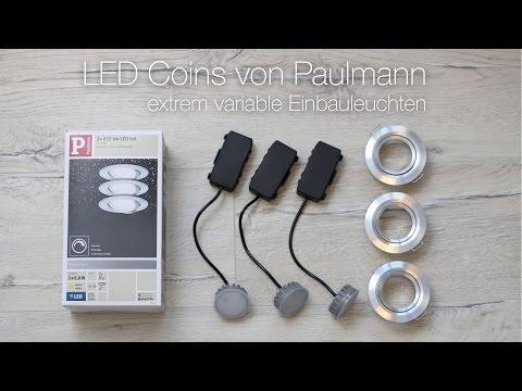 So gehts: Mehrere Paulmann LED Coins miteiander verbinden