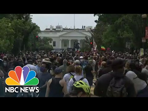 Massive Protests Across The U.S. Over Death of George Floyd | NBC Nightly News