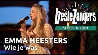 Emma Heesters    Wie Je Was | Beste Zangers 2019