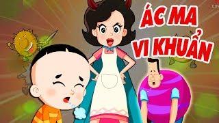 BỐ ĐẦU NHỎ CON ĐẦU TO - Ác Ma Vi Khuẩn - Phim hoạt hình biên soạn cho trẻ em 2019