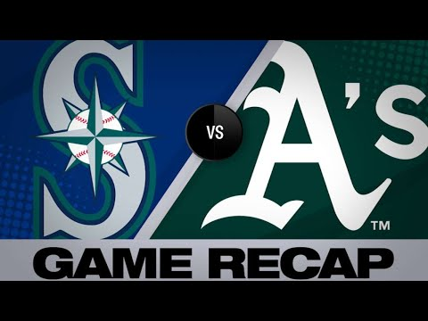 5/25/19: A's survive late rally from Mariners