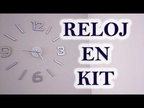 [DECORACIÓN] - Instalación de reloj en kit