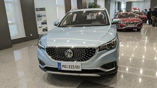 MG ZS EV Walkaround | Hindi | Motoroctane