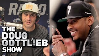 Doug Gottlieb - Carmelo Anthony Can Either Be Allen Iverson OR Dwight Howard