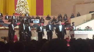 Tuskegee Men's Glee Club -2018 Christmas Medley