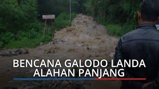 Bencana Galodo Terjang Alahan Panjang, Ruas Jalan Tertimbun Sepanjang 400 Meter