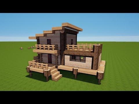 ᐅᐅHolzhaus Minecraft Test O Preisvergleich August - Minecraft hauser schnell bauen