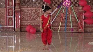 Aai mala khelayla jaychay (Intro) - HD English Medium School Gathering Dance - 2018-19