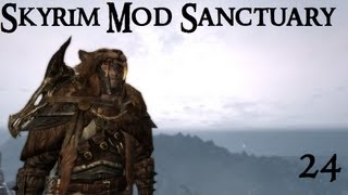 Skyrim Mod Sanctuary 24 : Warchief, Einherjar, Vagabond, Omegared99 and Dragon Priest Armor
