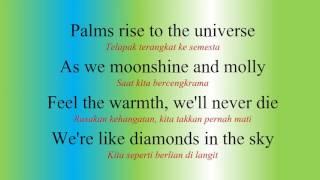 Lirik Lagu Diamonds dan Terjemahannya