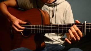Be like you- Ed Sheeran guitar cover (karaoke)