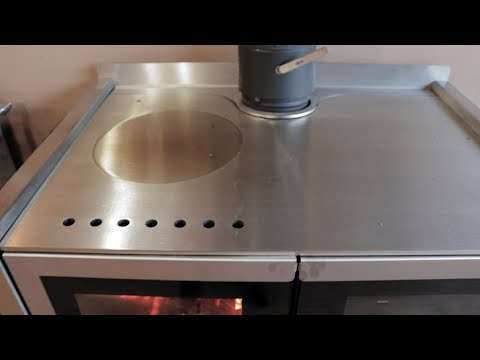 Firebelly Razen Wood Cook Stove - Cook Top Changes