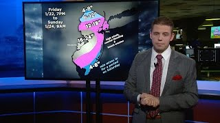 NJTV News Weather: Latest Forecast for Weekend Blizzard
